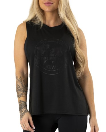ICIW Muscle Tanktop Wmn - ICANIWILL