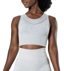 ICIW Queen Mesh Less Crop Top