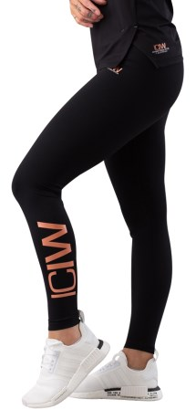 ICIW Rose Gold Limited Edition Tights Wmn - ICANIWILL