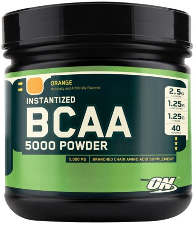 Optimum Nutrition Instantized BCAA 5000 Powder, Kosttillskott - Optimum Nutrition