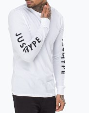 Just Hype Mens Longsleeve T-Shirt