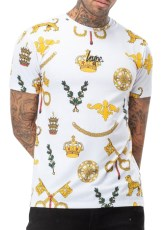 Just Hype Royal Crest Tee