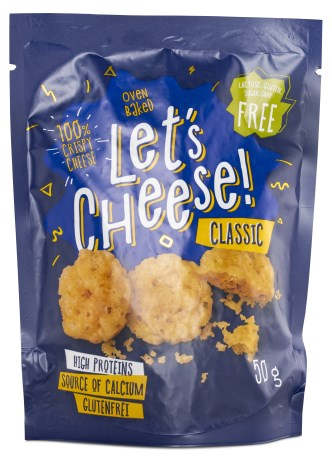 Lets Cheese Crispy Cheese, Livsmedel - Lets Cheese
