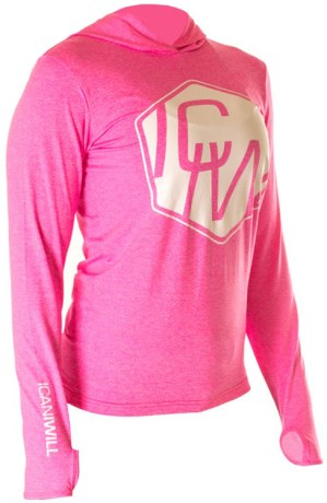 ICANIWILL Long Sleeve Hoodie Women V.2,  - ICANIWILL