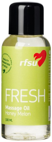RFSU Fresh Massage Oil,  - Rfsu