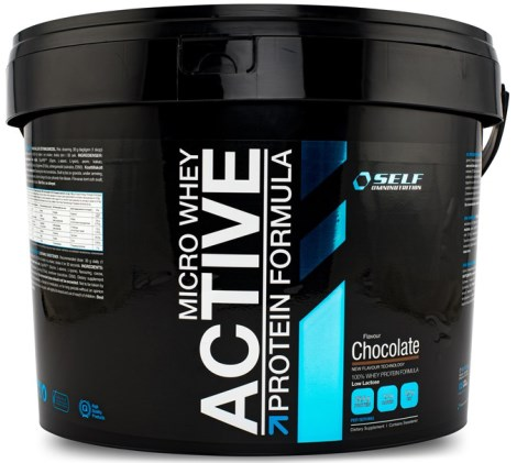 Micro Whey Active, Livsmedel - Self Omninutrition