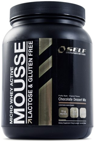Micro Whey Active Mousse, Livsmedel - Self Omninutrition