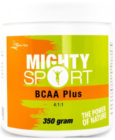 Mighty Sport BCAA Plus 4:1:1, Kosttillskott - Alpha Plus