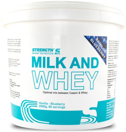 Strength Milk and Whey,  - Strength