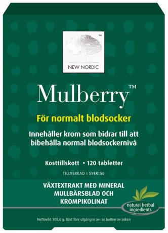 New Nordic Mulberry, Viktkontroll & diet - New Nordic