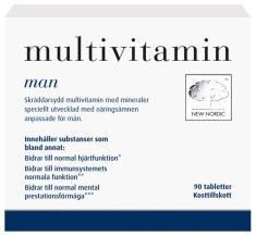 New Nordic Multivitamin Man