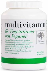 New Nordic Multivitamin Vegetarianer & Veganer