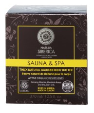 Natura Siberica Sauna & Spa Thick Natural Daurian Body Butter