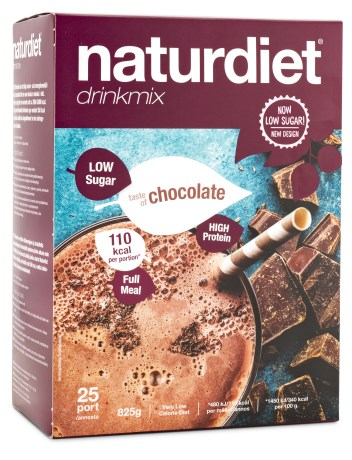 Naturdiet Low Sugar Drinkmix, Livsmedel - Naturdiet