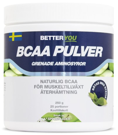 Better You BCAA Pulver, Kosttillskott - Better You