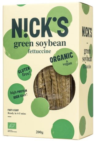 Nicks Green Soy Bean Fettucine, Livsmedel - Nicks