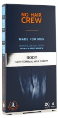 No Hair Crew Hair Removal Wax Strips
