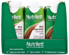 Nutrilett Less Sugar Drink - Kort Datum