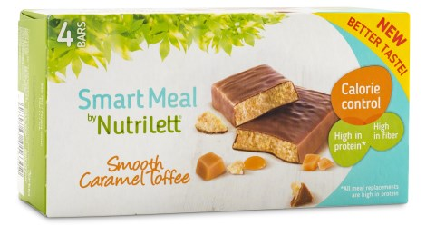 Nutrilett Smart Meal Bar 4-pack, Viktkontroll & diet - Nutrilett