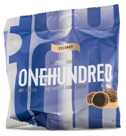 One To Hundred Protein Balls, Kosttillskott - OneToHundred