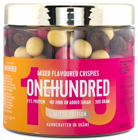 One To Hundred Protein Crispies Mixed, Livsmedel - OneToHundred