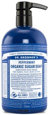 Peppermint Organic Sugar Soap