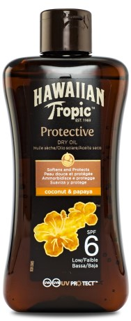 Hawaiian Tropic Protective Dry Oil,  - Hawaiian Tropic