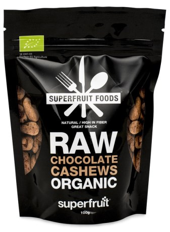 Superfruit Raw Chocolate Cashews, Livsmedel - Superfruit