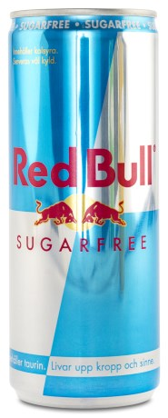 Red Bull Sugarfree Energy Drink, Kosttillskott - Red Bull