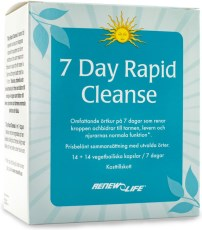 Renew Life 7 day Rapid Cleanse