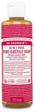 Dr Bronner Pure Castile Liquid Soap Rose