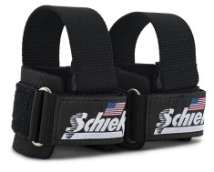 Schiek Power Lifting Straps +Dowel