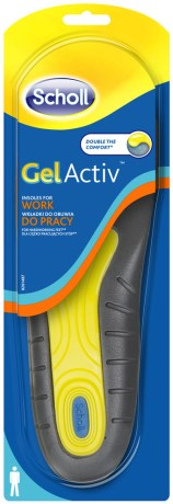 Scholl Sulor Gel Activ Work Men, Rehab - Scholl