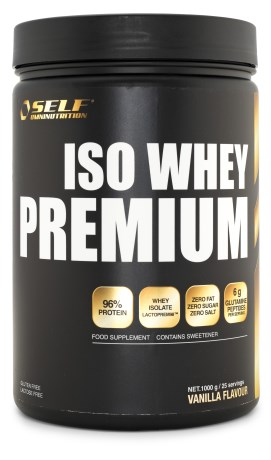 Self Omninutrition Iso Whey Premium, Kosttillskott - Self Omninutrition