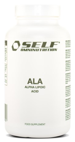 Self Omninutrition Lipoic Acid ALA, Viktkontroll & diet - Self Omninutrition