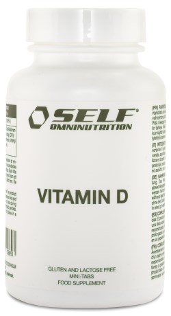 Self Omninutrition Vitamin D - Self Omninutrition