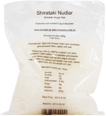 Raw Food Shop Shirataki nudlar