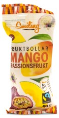 Smiling Fruktbollar Mango/Passion Fairtrade