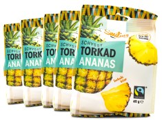 Smiling Torkad Ananas Fairtrade