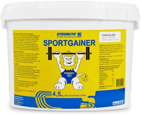 Strength Sport Gainer, Kosttillskott - Strength