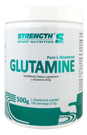 Strength L-Glutamine, Kosttillskott - Strength