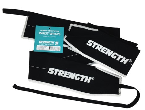 Strength Olympic Weightliftning Wrist Wraps - Strength