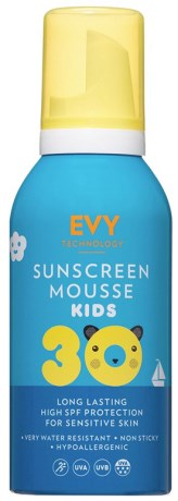 EVY Sunscreen Mousse Kids SPF30,  - EVY Technology
