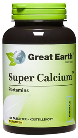 Great Earth Super Calcium, Kosttillskott - Great Earth