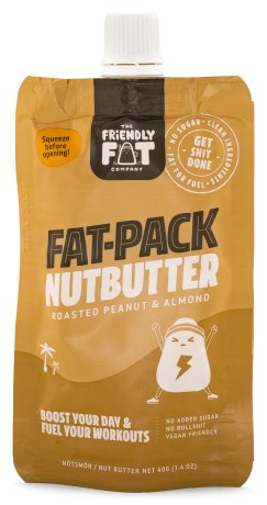 The Friendly Fat Company Fat-Pack Nutbutter, Livsmedel - The Friendly Fat Company