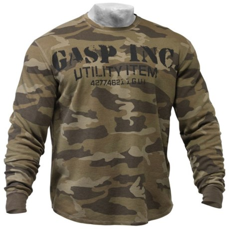 GASP Thermal Gym Sweater - Gasp