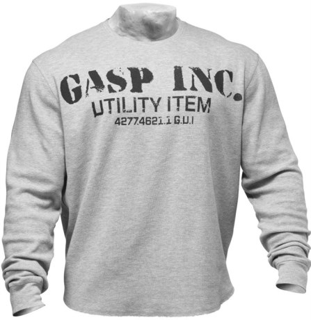 GASP Thermal Gym Sweater,  - Gasp
