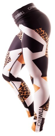 ICANIWILL Leopard Tights Women,  - ICANIWILL