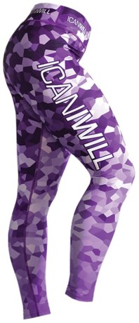 ICANIWILL Mosaic Tights,  - ICANIWILL