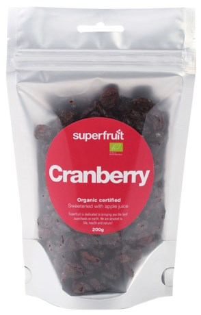 Superfruit Cranberry, Livsmedel - Superfruit
